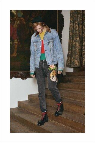 Мужская круизная коллекция Gucci 2017