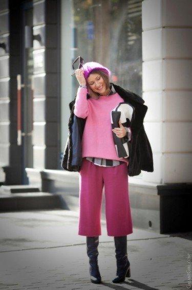 Брюки-кюлоты: с чем и как носить