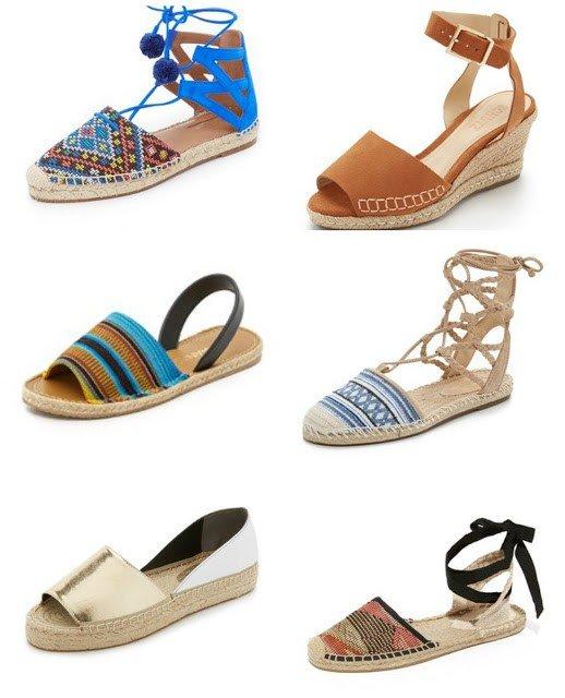 Идеальная летняя обувь: Эспадрильи