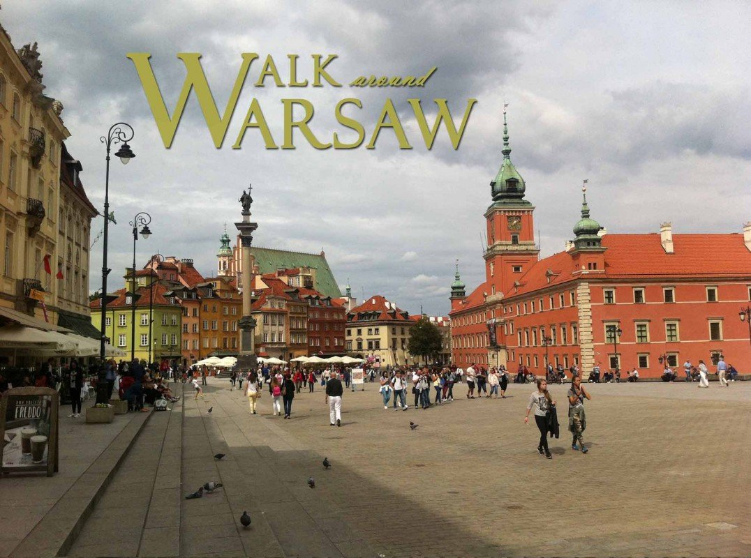 Walk around Warsaw
