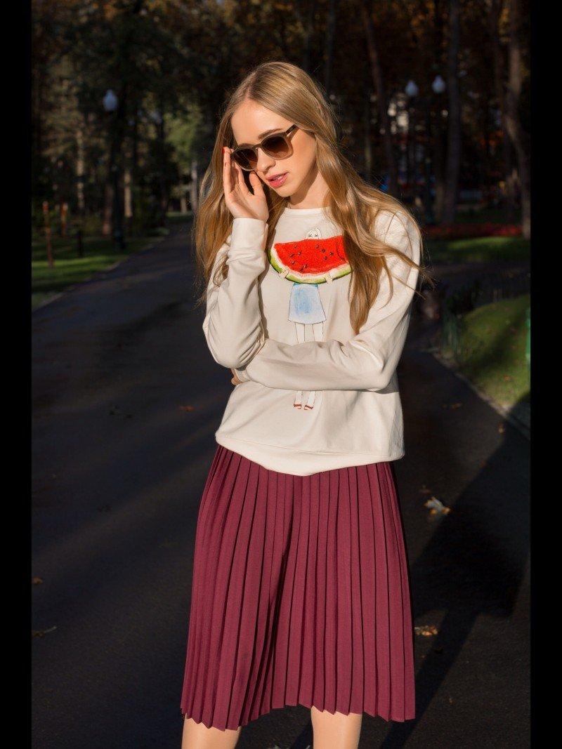 Юбке плиссе : с чем носить? Или чем отличается плиссированная юбка от гофре ?