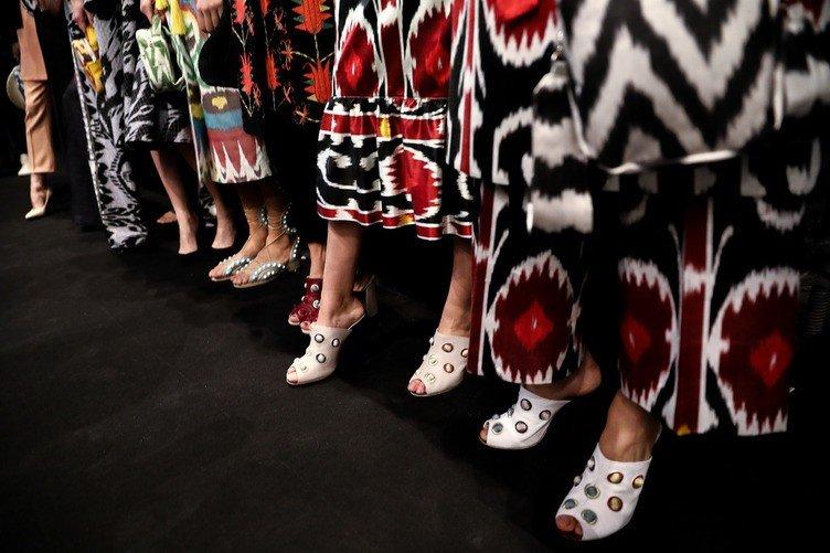 Mercedes Benz Fashion Week Russia. Part II. Показ коллекции Moel Bosh — новое видение современной моды