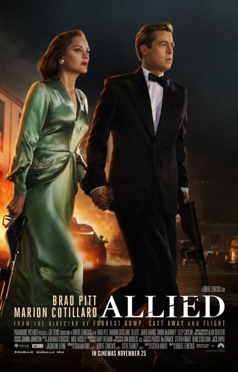 Allied,2016( Союзники)