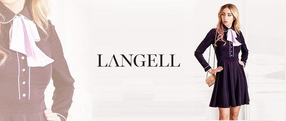 Коллекция Langell: нежный casual и коктейльные наряды