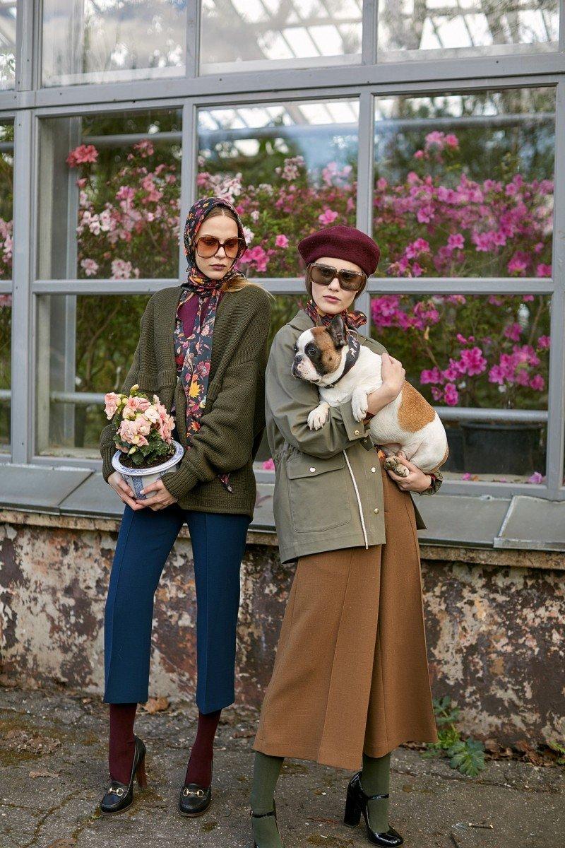 Эстетика Франции 70-х в новой коллекции осень/зима 2017