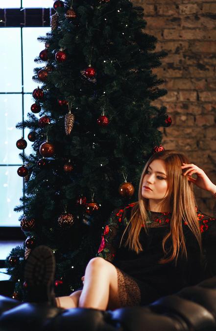NEW YEAR'S EVE / KSENIA GOSPODINOVA DRESS