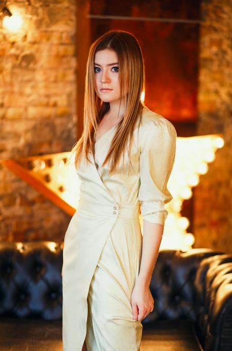 CHAMPAGNE SPARKLES / KSENIA GOSPODINOVA DRESS