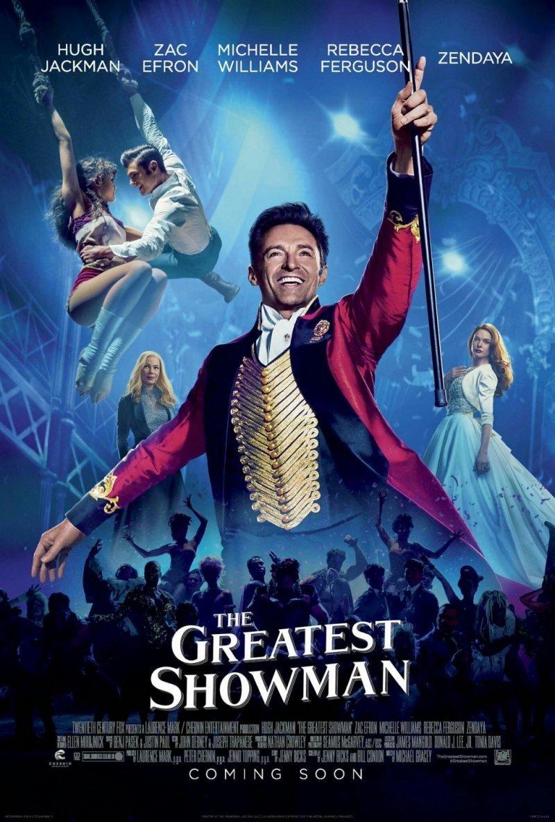 The Greatest Showman ( Величайший шоумен), 2017