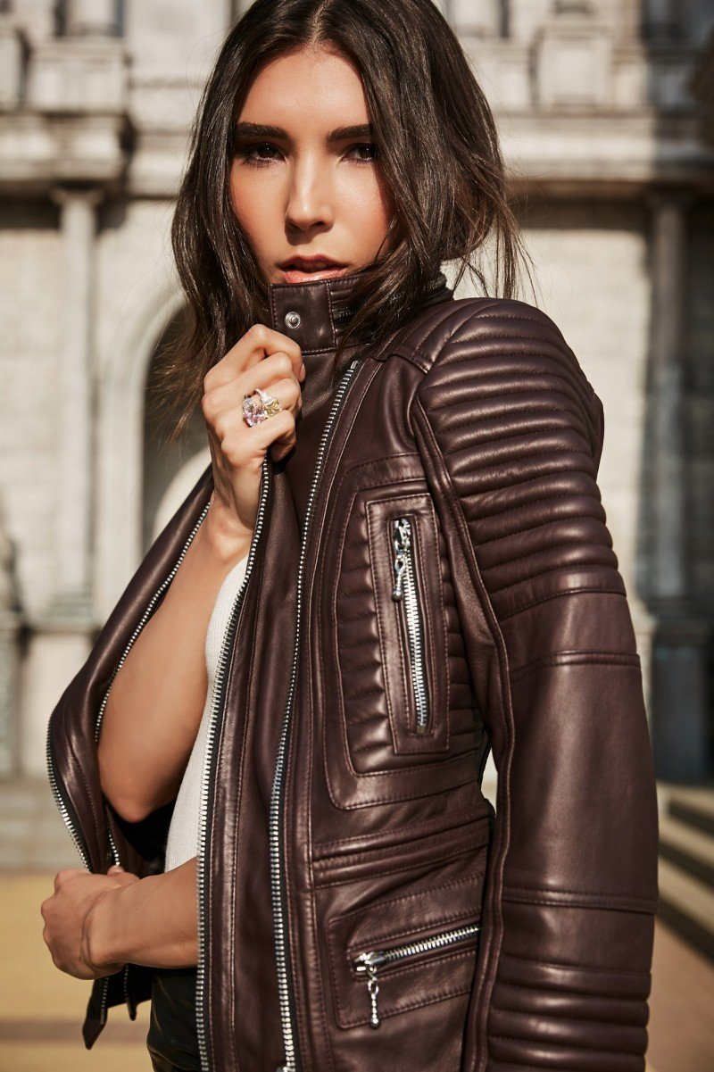 INA VOKICH leather - лимитированная коллекция кожаной одежды