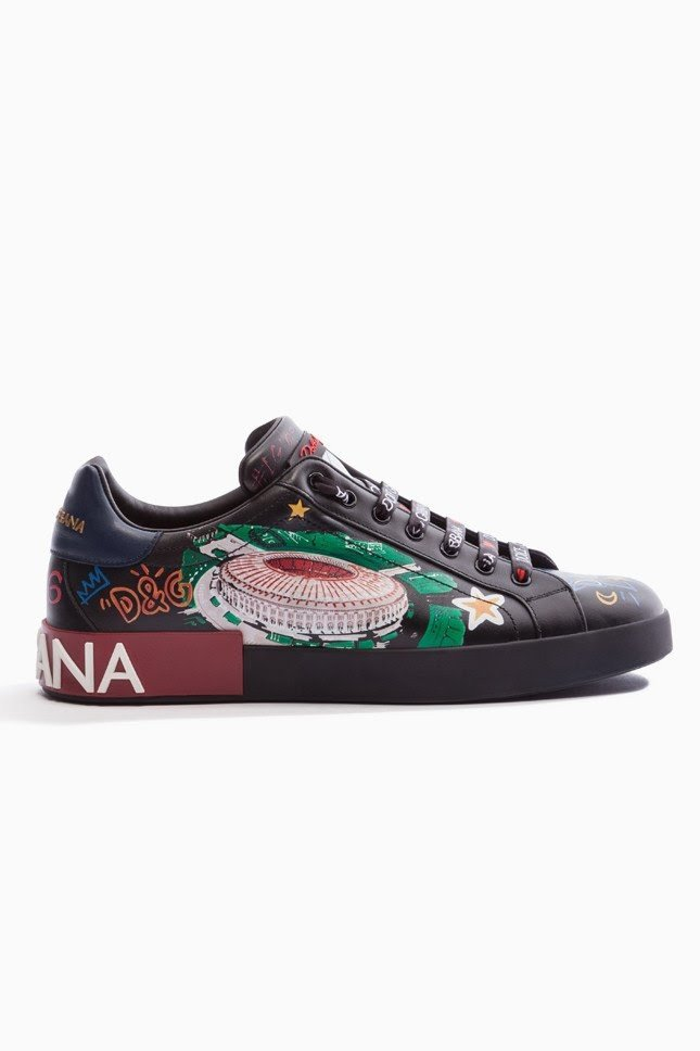 Футбольная лихорадка в стиле Dolce&Gabbana