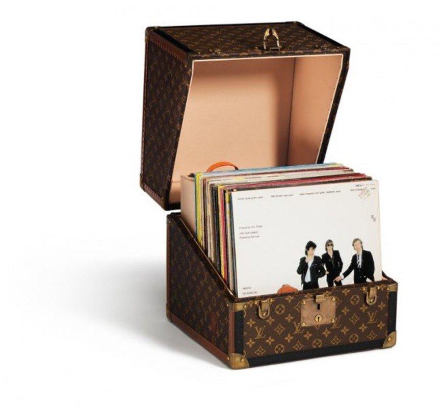 Первый чемодан Вирджила Абло для Louis Vuitton