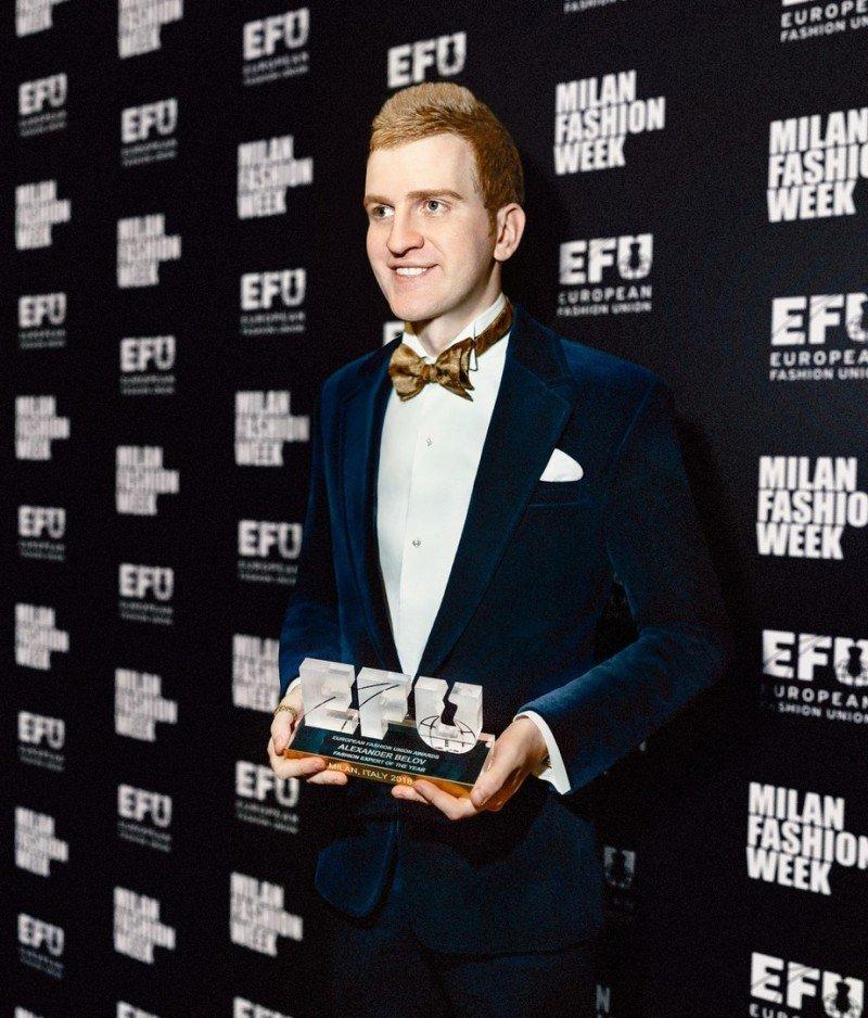Международная премия European fashion union awards 2018 в Милане определила влиятельных персон в fashion сфере