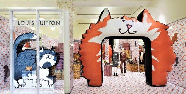Коты by Louis Vuitton x Grace Coddington