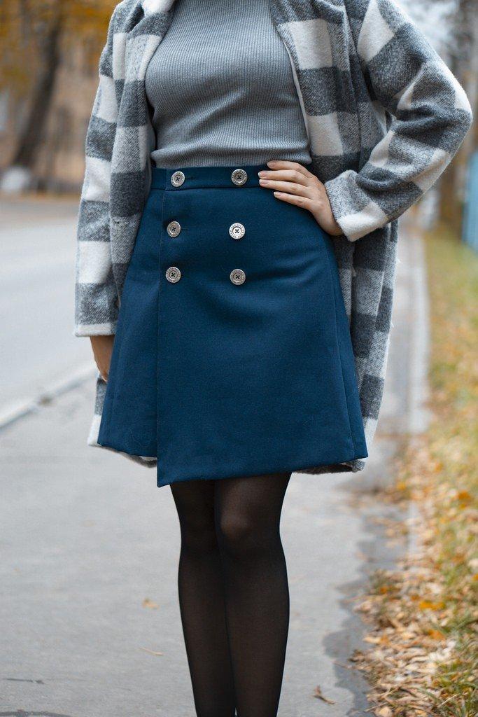 Я шью: Асимметричная юбка с запАхом
