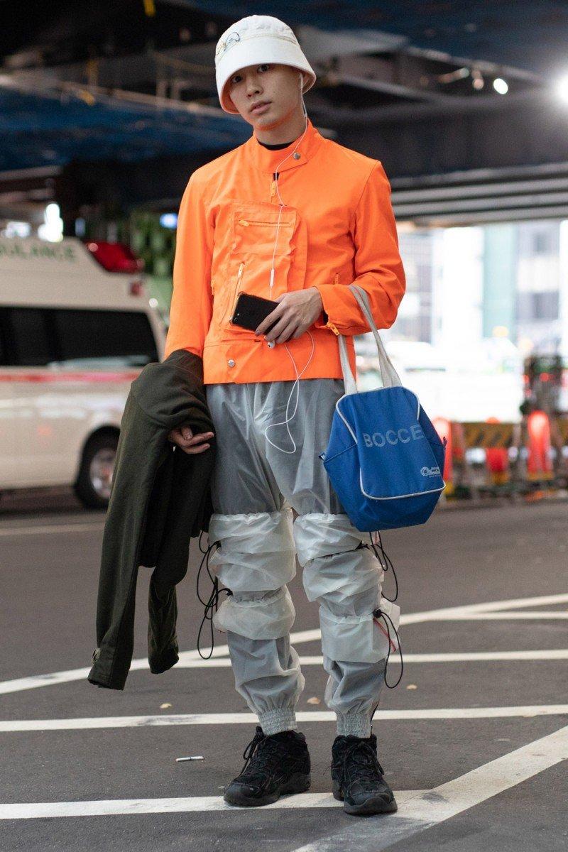Другая мода: Стритстайл с Недели моды в Токио