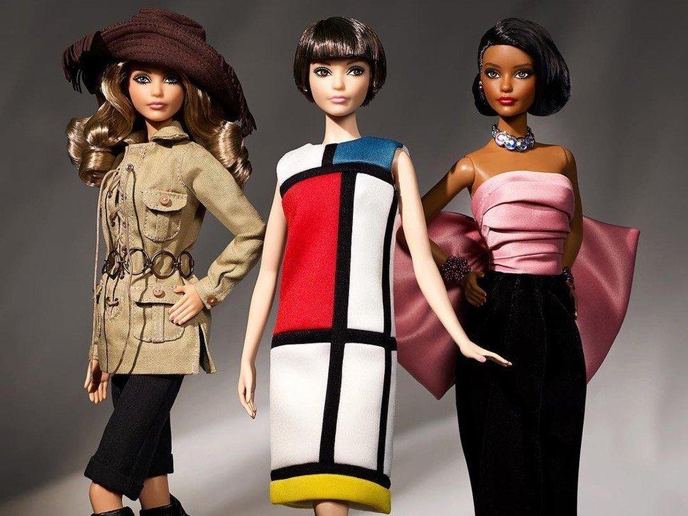 Новые наряды Барби от Yves Saint Laurent