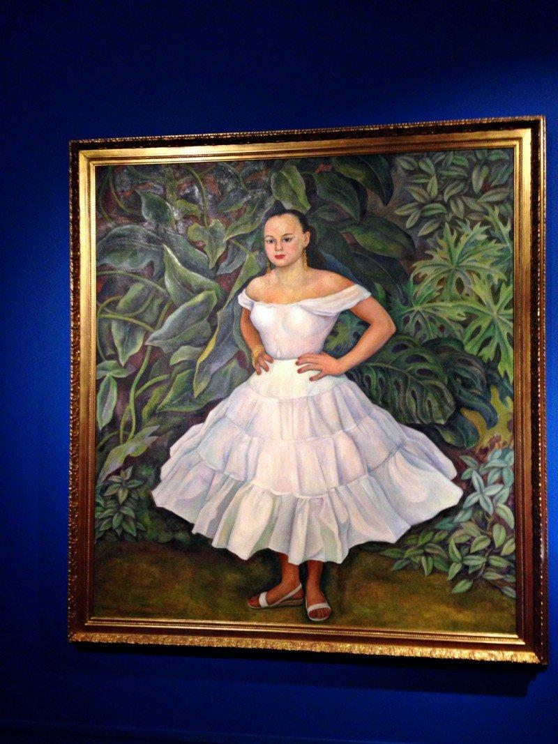 Фрида Кало и Диего Ривера в «Манеже»