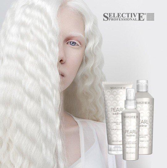 Pearl Sublime - новый профессиональный уход для волос с экстрактом жемчуга от Selective Professional