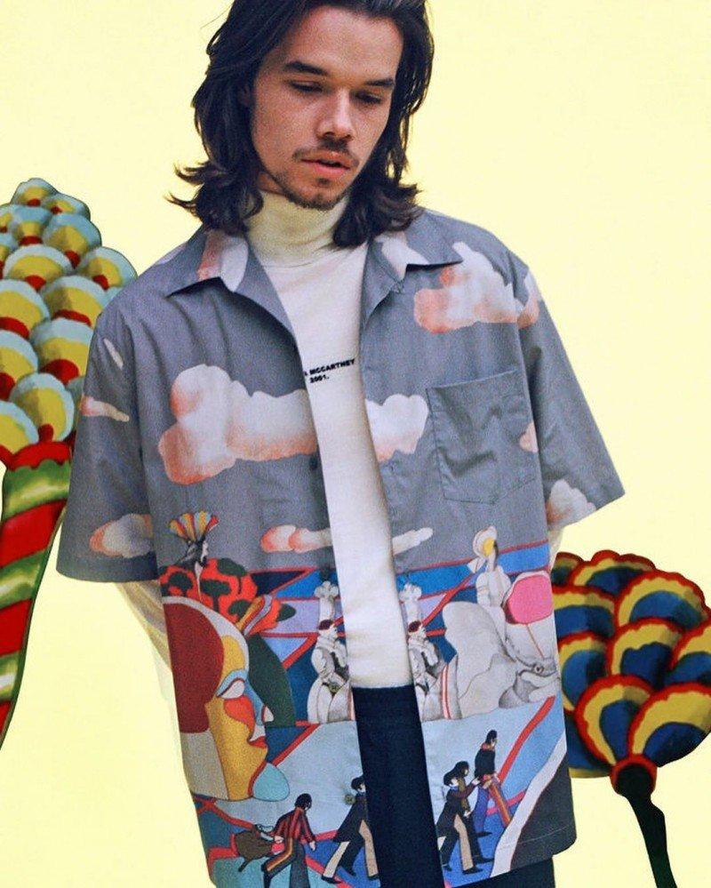 Новая коллекция Stella McCartney посвящена легендарной «Yellow Submarine»
