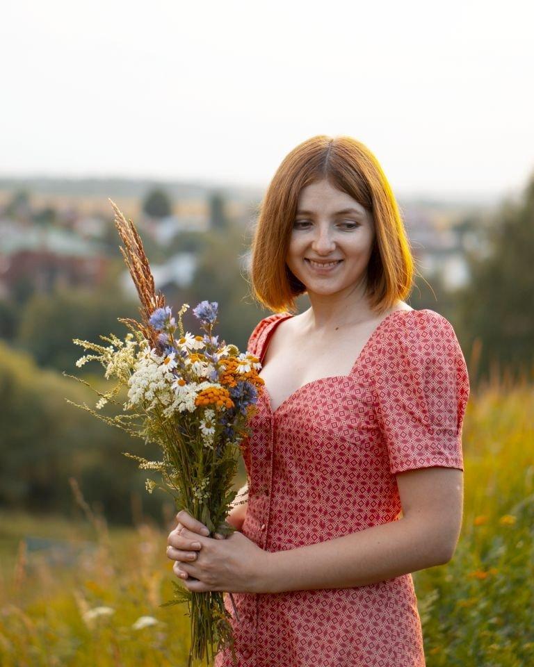 Я шью: Романтичное платье Ролиз