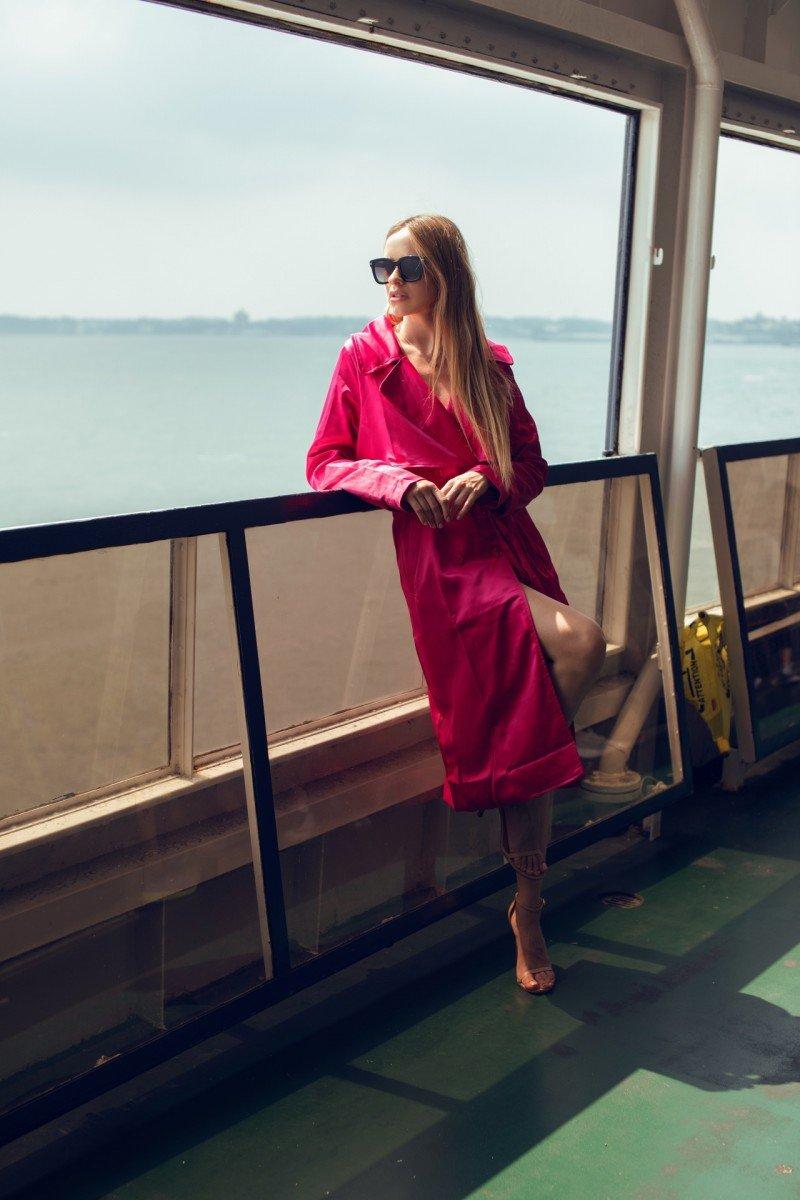 Платье - тренч - удобная повседневность . Как и с чем стоит  носить  !?