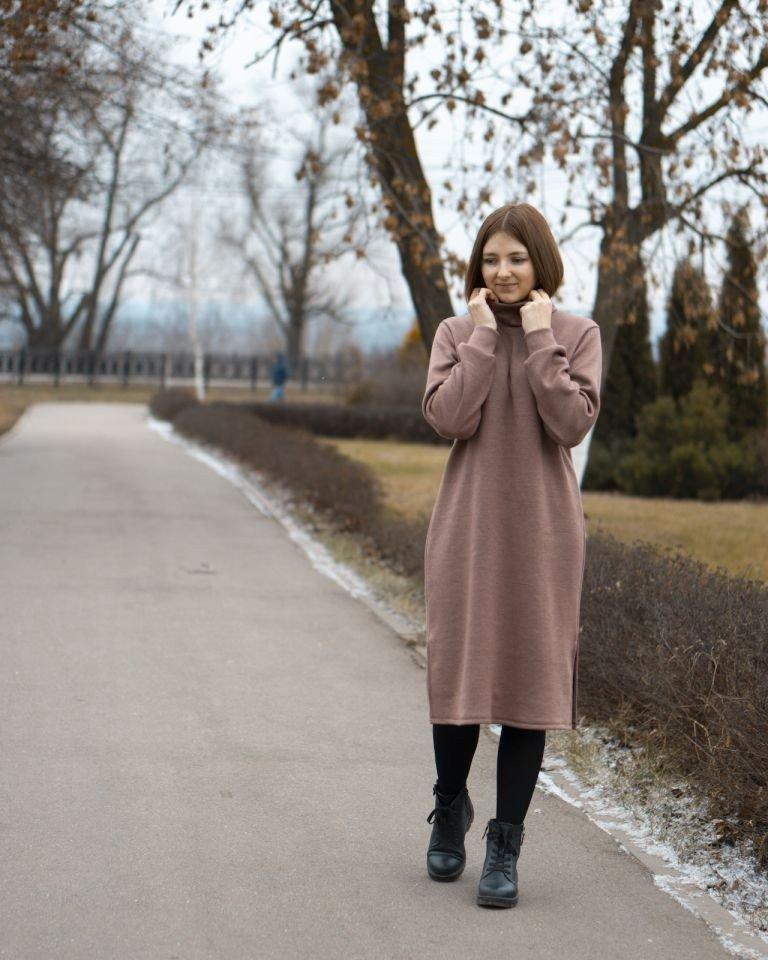 Я шью: Уютное зимнее платье