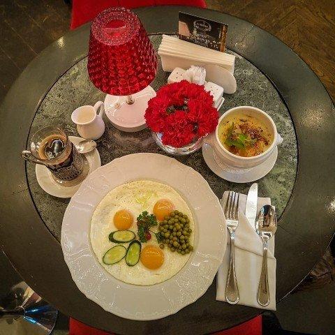 Завтрак с видом на Кремль - Гранд кафе dr. Живаго
