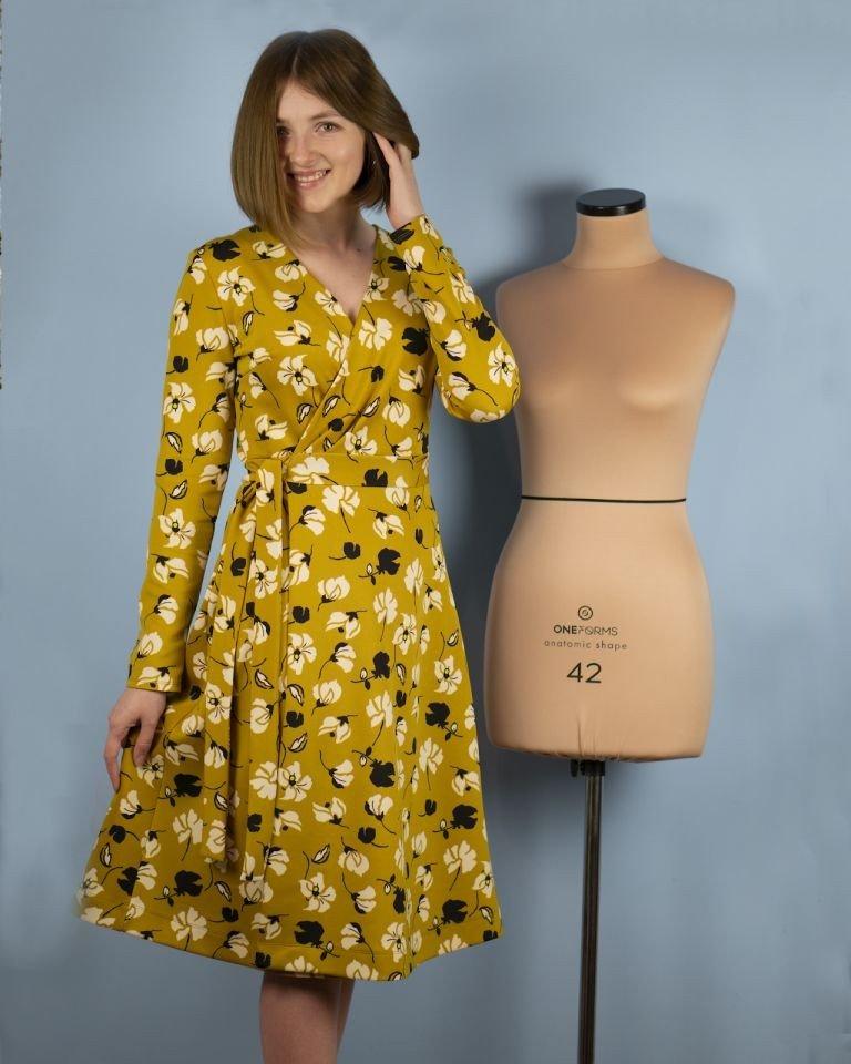 Я шью: Платье с запАхом