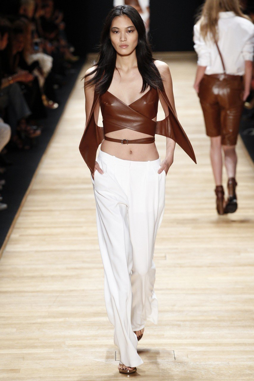 PARIS FASHION WEEK S/S2016: Anthony Vaccarello, Barbara Bui.