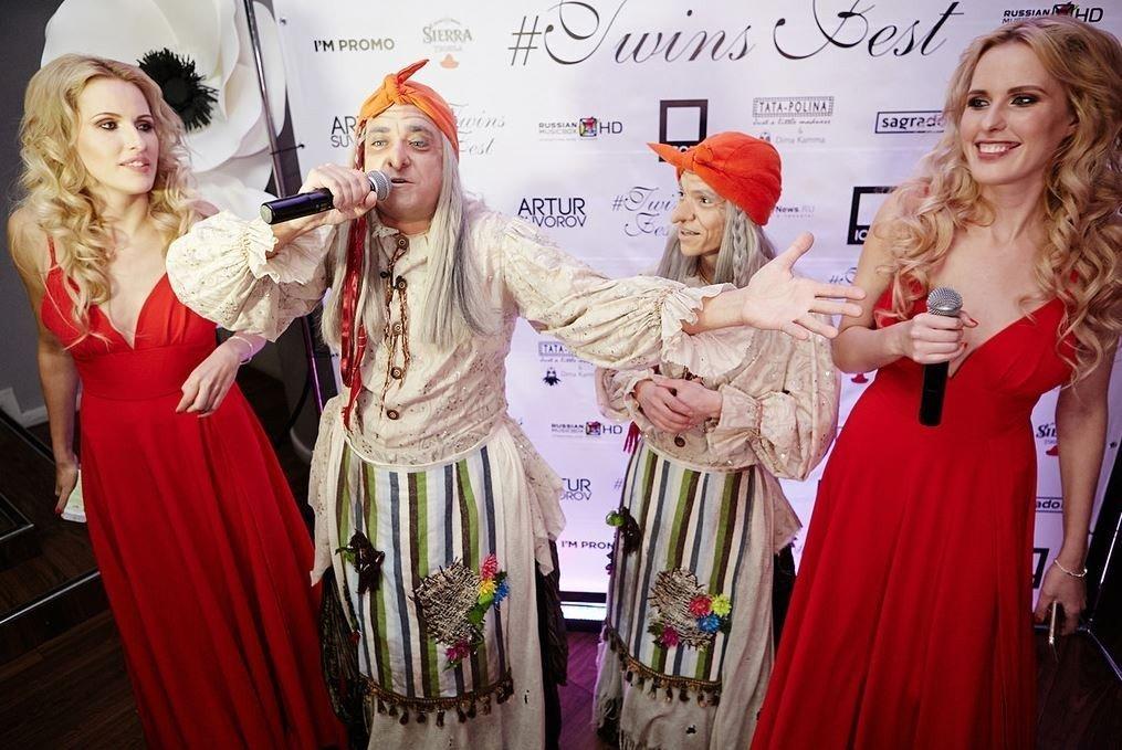 Невероятный флэшмобTWINS FEST собрал более 100 пар близнецов со всей России