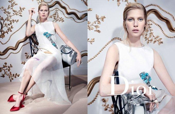 Новая кампания Dior