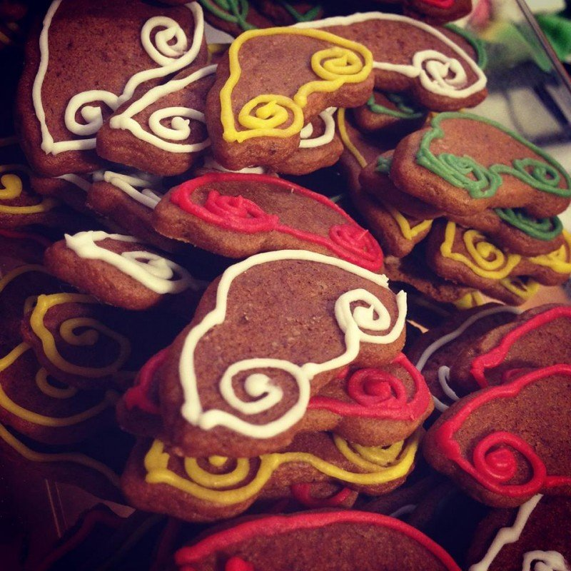 Запах праздника у вас дома или имбирное печенье (готовим с удовольствием, дарим с улыбкой)