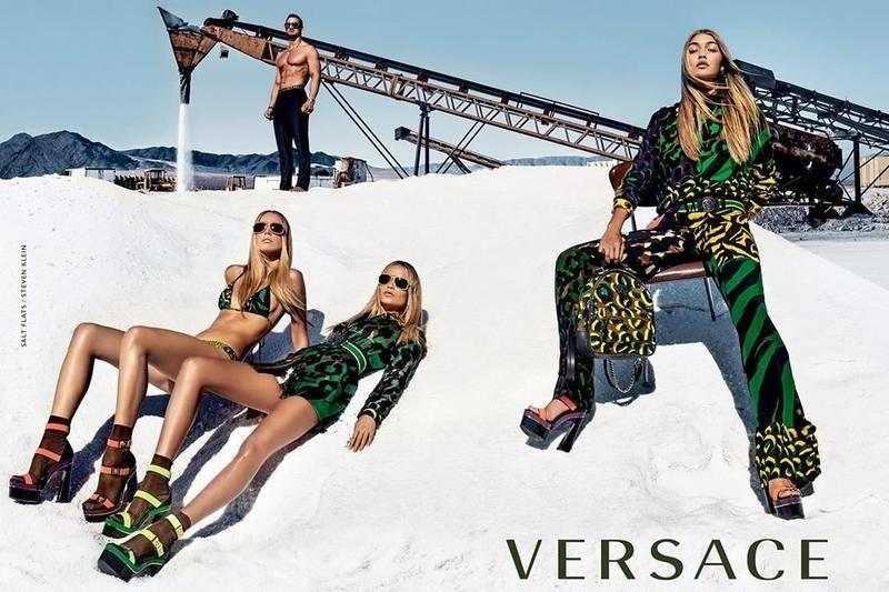 Versace Spring/Summer 2016 Advertising