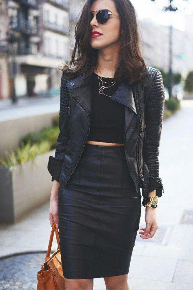 Чёрный цвет всегда в моде...