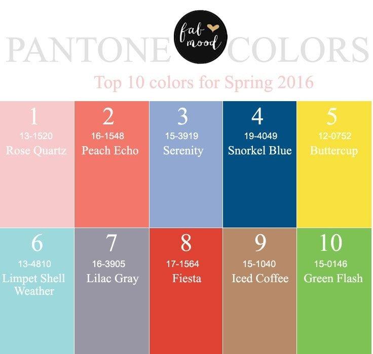 В предвкушении весны: модные цвета сезона весна-лето 2016