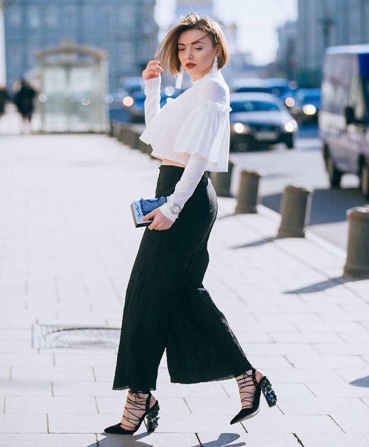 Street style MBFW Russia