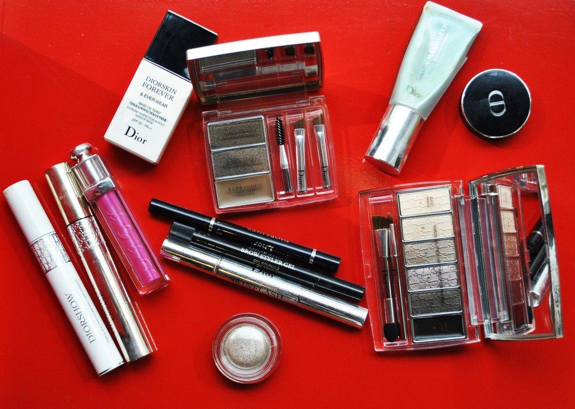 Dior makeup 1: макияж косметикой Dior