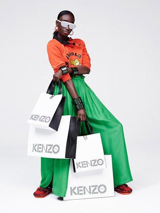 Коллекция KENZOxH&M: архивные модели французского дома по цене H&M