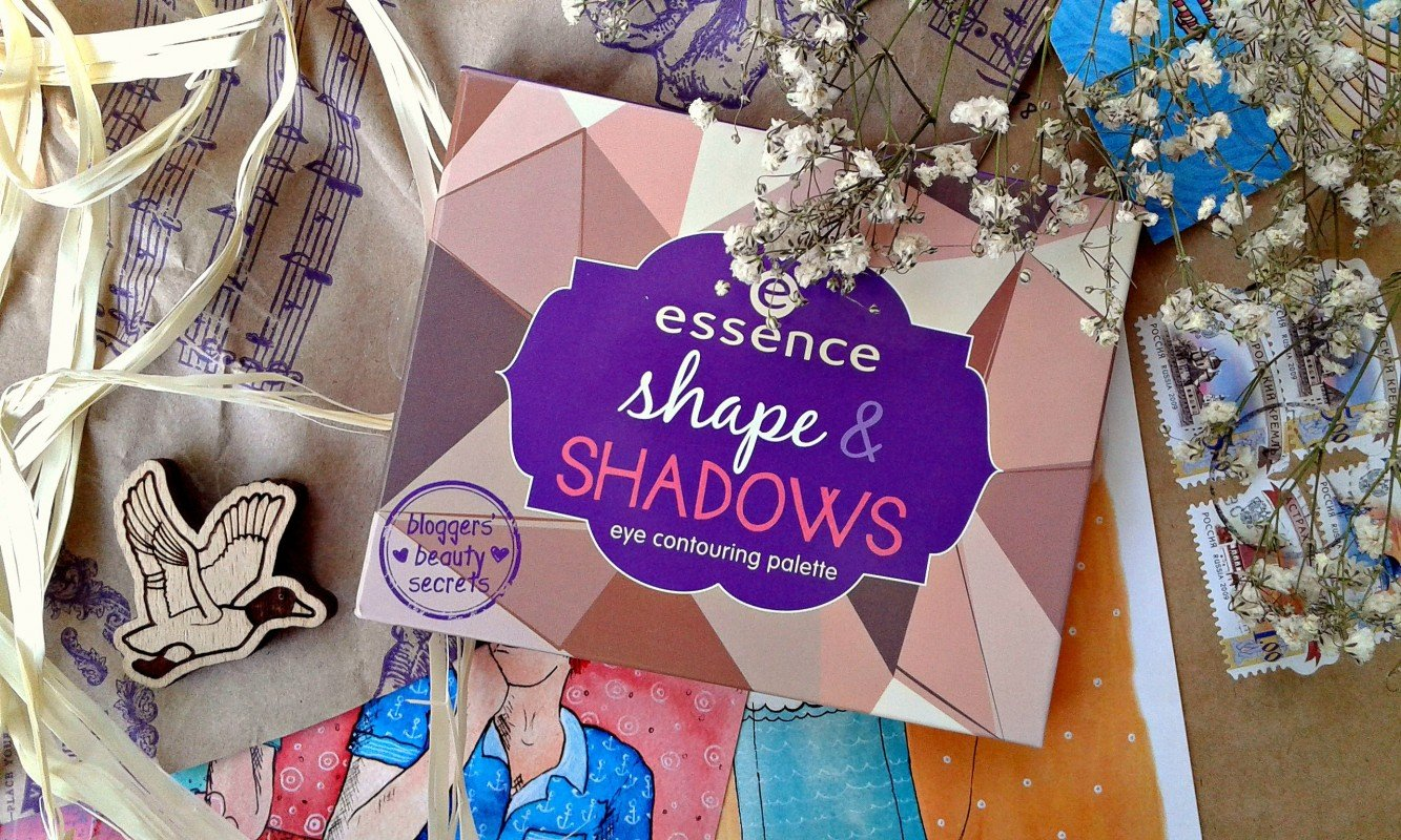 ALL EYES ON ME.ПАЛЕТКА ДЛЯ МАКИЯЖА ГЛАЗ И БРОВЕЙ ESSENCE SHAPE & SHADOWS EYE CONTOURING PALETTE BY MARY.