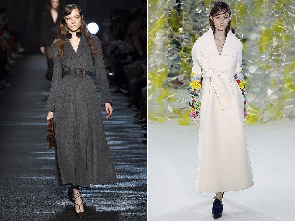 Модные пальто зима 2016-2017