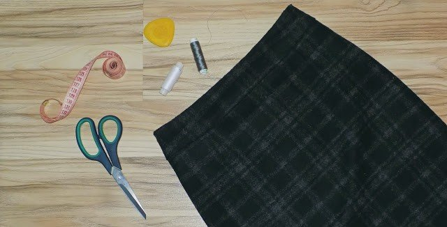 DIY: Шью зимнюю юбку-карандаш!