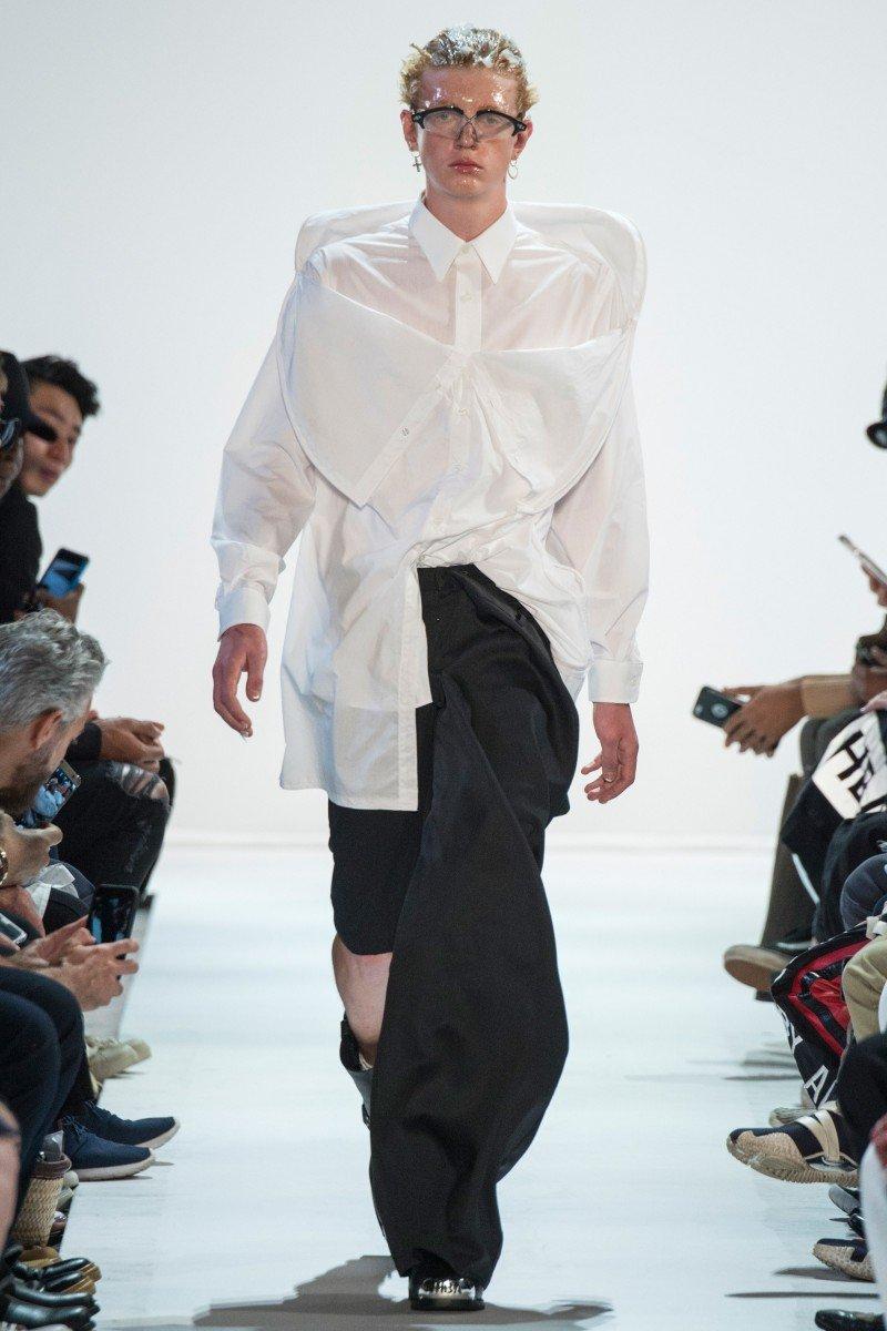 Тренд 2017: асимметричные рубашки
