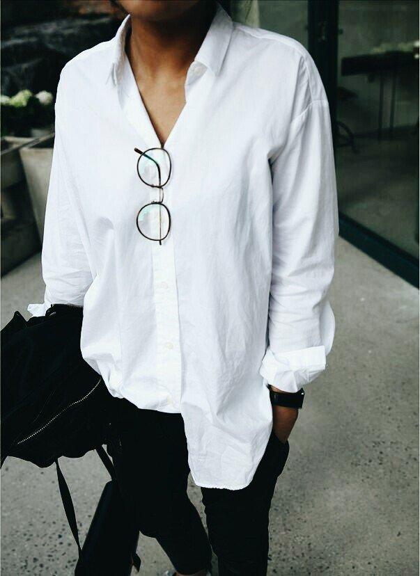 Та самая белая рубашка...которая нужна каждой :-)!