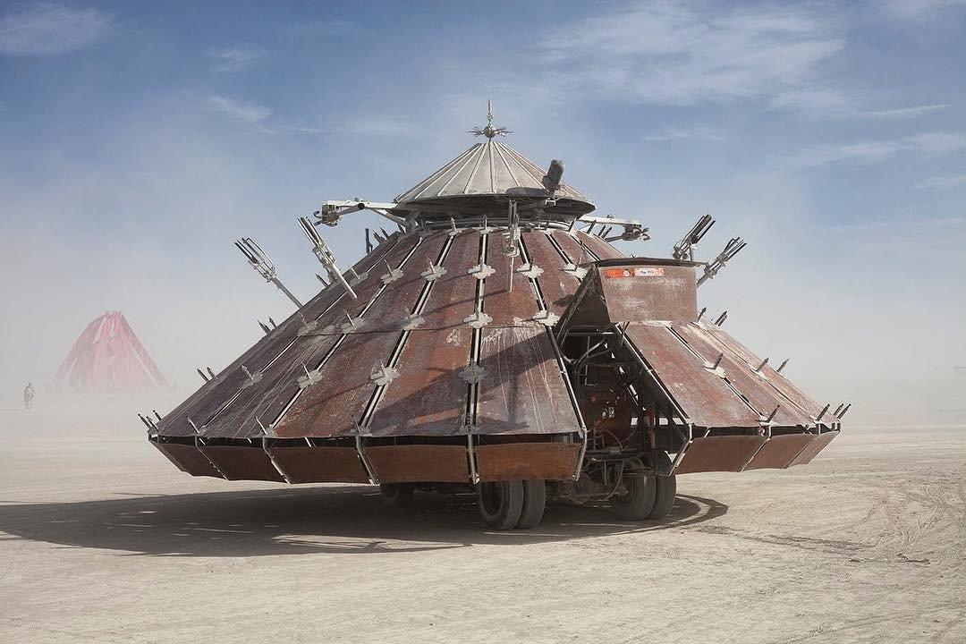 По стопам культовых фестивалей планеты / Burning Man
