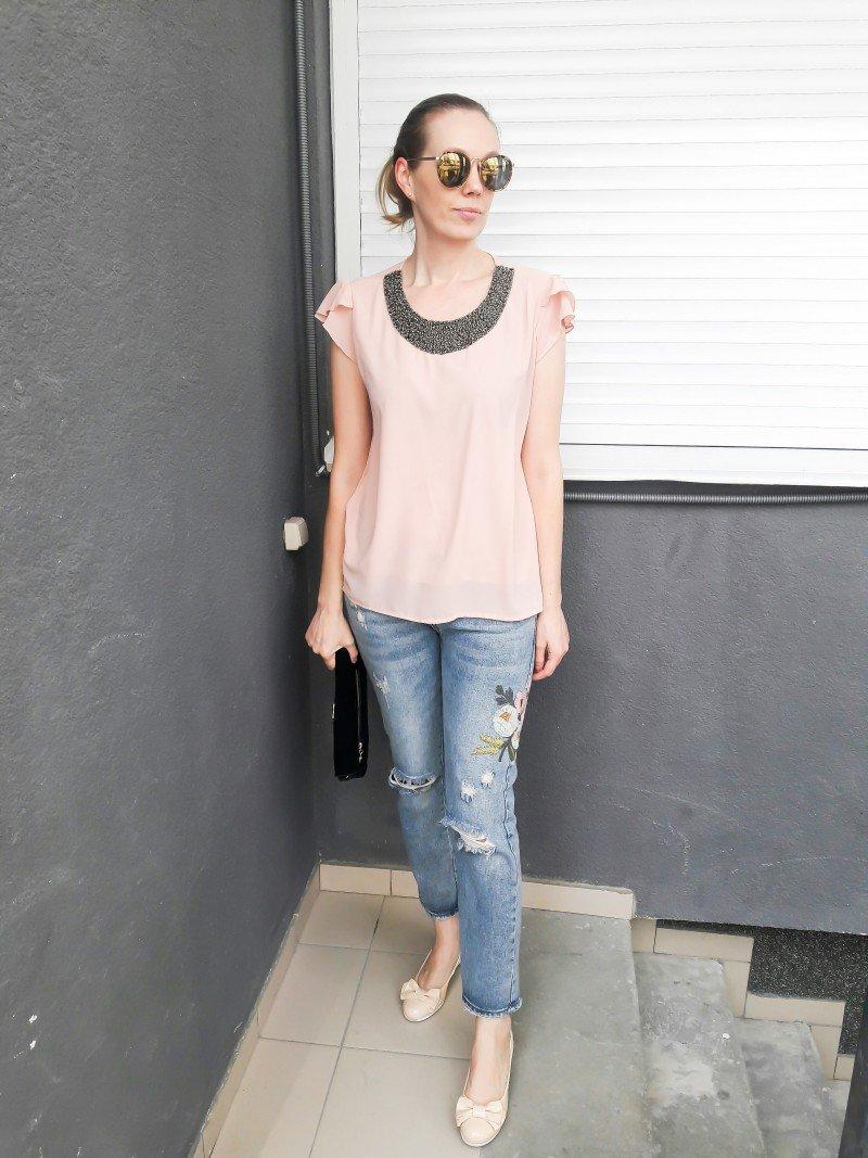 Spring Look: джинсы с вышивкой или немного весны!
