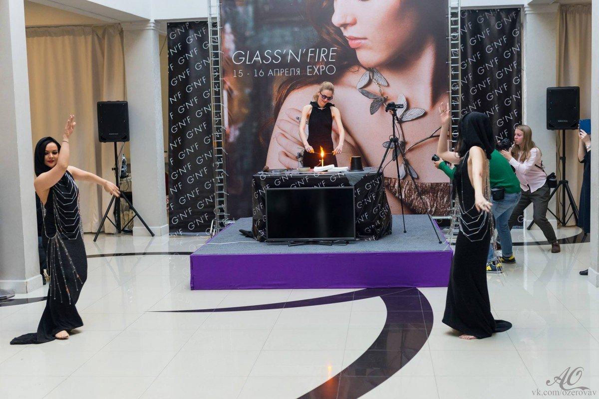 Международная выставка GLASS'N'FIRE EXPO 2017 «Стекло и огонь»