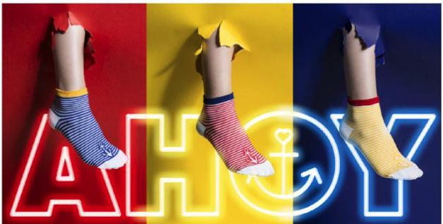 ITEMm6 коллекция носков AHOY