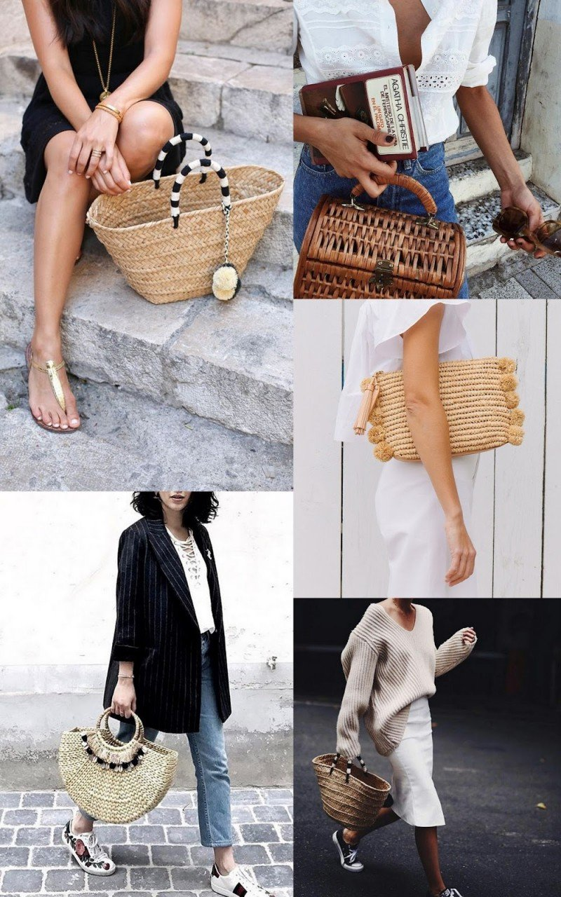 HOW TO: STRAW BAGS / SUMMER'17
