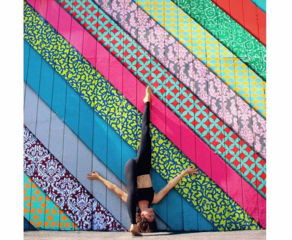 Бесплатная йога в парках Москвы 2017