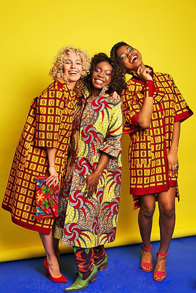 Afroprint new collection 2017 by Kristina Adushkina